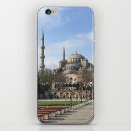 Blue Mosque iPhone Skin