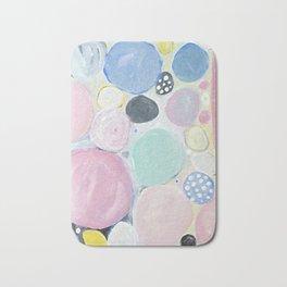 Mixed Lollies Abstract Bath Mat