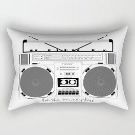 Bombox Rectangular Pillow