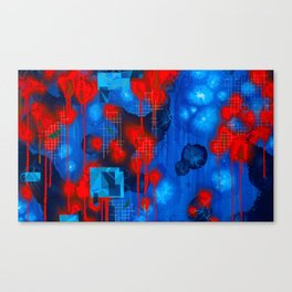 Voices of the Invisible Canvas Print