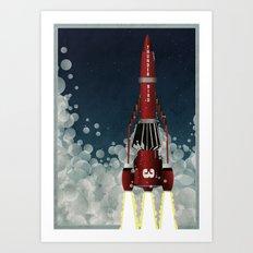 Thunderbird 3 Art Print