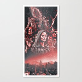 Thor (2011) Alternative Movie Poster Canvas Print
