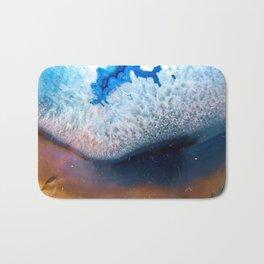 Blue Geode II Bath Mat