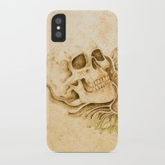 skull4 iPhone X Slim Case