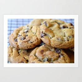 Cookies are Cooling Art Print