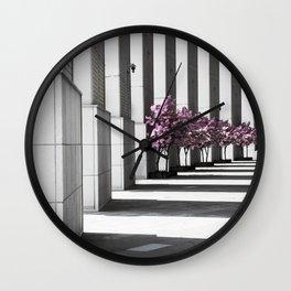 Shanghai lines Wall Clock