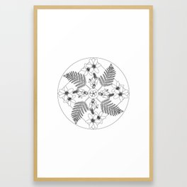 New Zealand Flora Framed Art Print