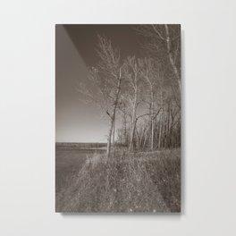 Downstream Campground, North Dakota 32 Metal Print