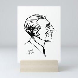 Maurice Ravel Mini Art Print