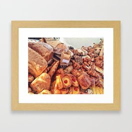Delicious Choices Framed Art Print