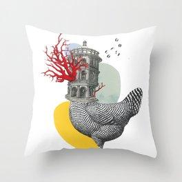 Bao A Qu Il Mostro Gentile Throw Pillow