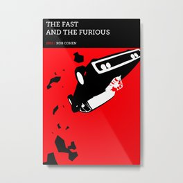 The Fast and the Furious Metal Print