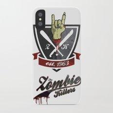 The Zombie Killers Slim Case iPhone X