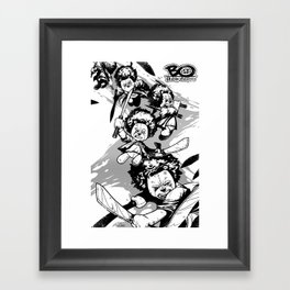 Bo: Machete Framed Art Print