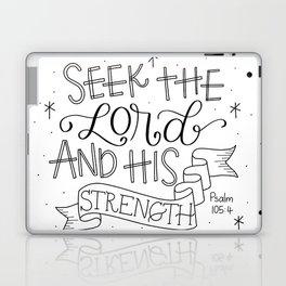 Seek the Lord Laptop & iPad Skin