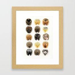 Vulva Diversity #3 Framed Art Print