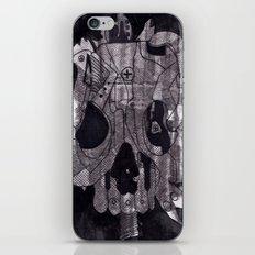Metal Skull iPhone & iPod Skin