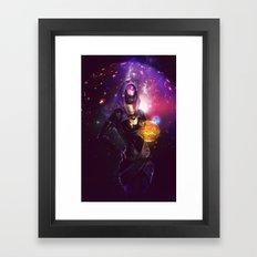 Tali'Zorah vas Normandy (Mass Effect) Art Framed Art Print