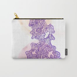 34 // Abstract 9 March 2017 | Abstract Shapes Art Colour Carry-All Pouch