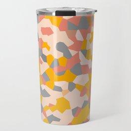 Exhale Arise Yellow Sun Pink Travel Mug
