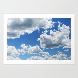 Cumulus Clouds 6 Art Print