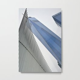 Towering Over Metal Print
