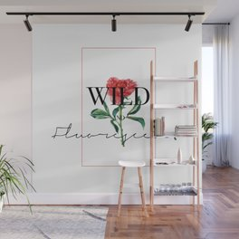 Wild and fluorescent Wall Mural