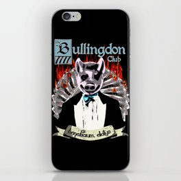 the Bullingdon Club iPhone Skin