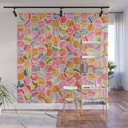 Marble Hive Rose Garden Wall Mural