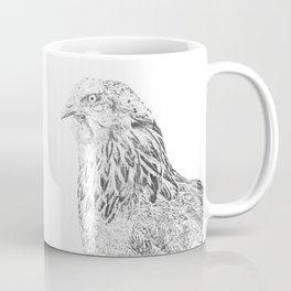 she's a beauty drawing Coffee Mug