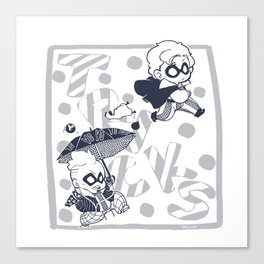 Tricky Canvas Print