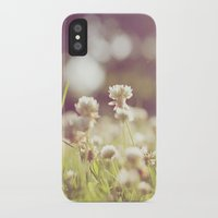clover iPhone & iPod Cases featuring Clover by laughlovephoto
