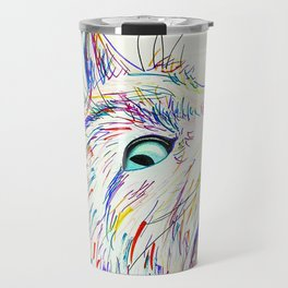 Color Cat Travel Mug