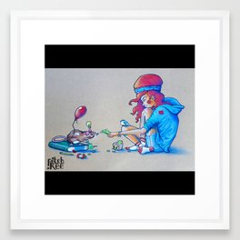Educashion Framed Art Print