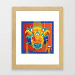 Beam me up, Bessie! Framed Art Print