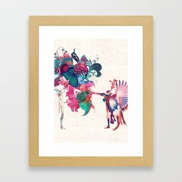 MIDSUMMER NIGHT - BLOSSOM Framed Art Print