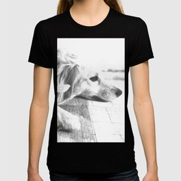 Sweet dog laying down T-shirt