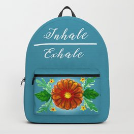 Inhale & Exhale Mandala Backpack