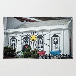 Decorated wall Lisbon Rug