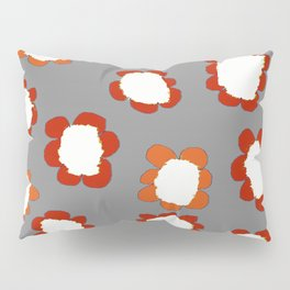 Daisies on Putty pattern Pillow Sham