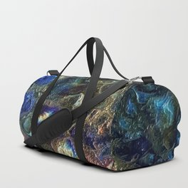 Currents 1 (Abstract Dachshund) Duffle Bag