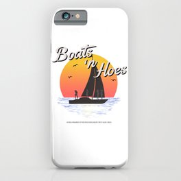 Boats n Hoes, World Premiere Of Prestige Worldwide's First Music Video, Step Brothers - First Word I iPhone Case