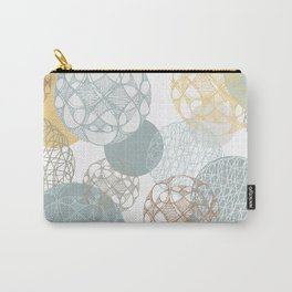 Floating Circles Carry-All Pouch
