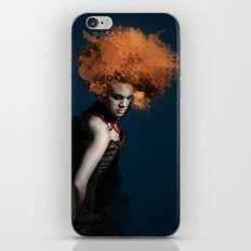 dama in piedi iPhone & iPod Skin