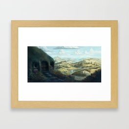 An Un-expected Journey Framed Art Print