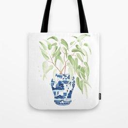 Ginger Jar + Eucalyptus Tote Bag