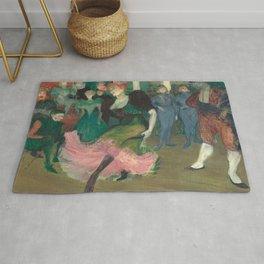 Henri de Toulouse-Lautrec - Marcelle Lender Dancing the Bolero in Chilperic Rug