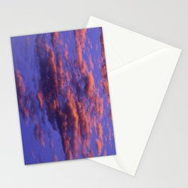 Pink and Blue Sky Stationery Cards