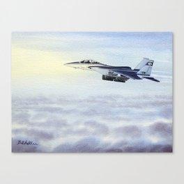 F-15 Eagle Aircraft Canvas Print