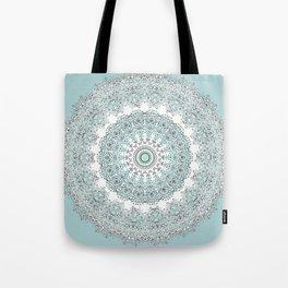 Mandala - Boho - Sacred Geometry - Pastels - Tote Bag
